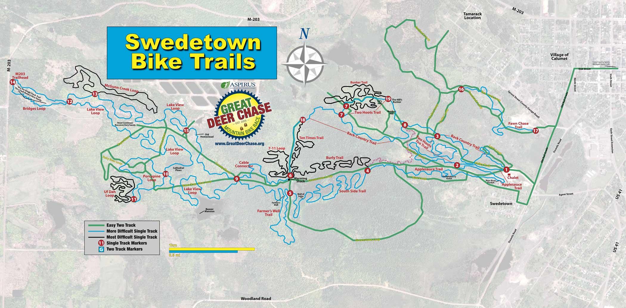 Trail Maps Swedetown Trails