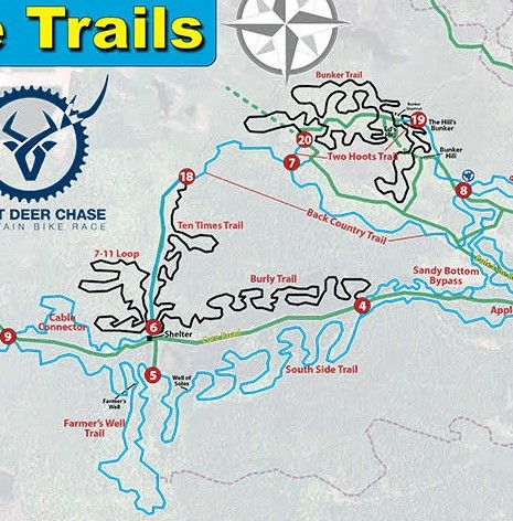 Swedetown Mountain Bike Trails